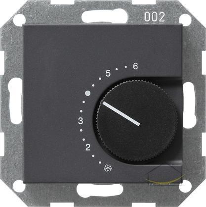 gira regulator temperatury pomieszczenia 230 v 10 a ze stykiem rozwiernym system 55 kolor. Black Bedroom Furniture Sets. Home Design Ideas